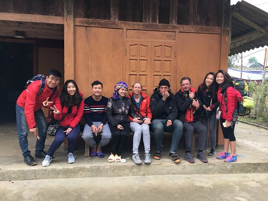 Lovely picture in the Cau may Homestay