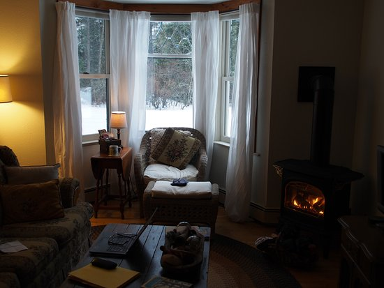 Embarrass, MN: cosy sitting room