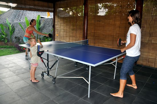 Resort Relax Bali: Ping Pong table