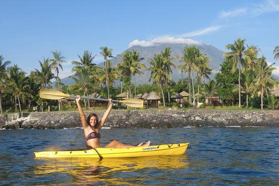 รีสอร์ทรีแล็กซ์บาหลี: Sea kayaks