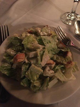 Camillo's at the Crossroads: Caesar salad