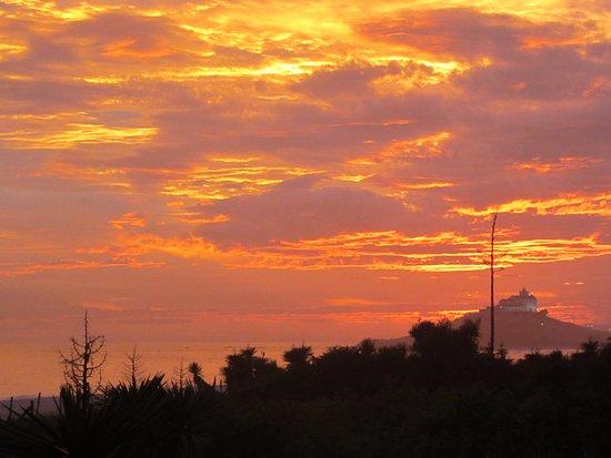 Casa da Praia: Sunset!