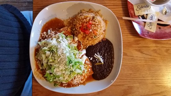Richmond, Canada : Enchiladas were SO GOOD!!!