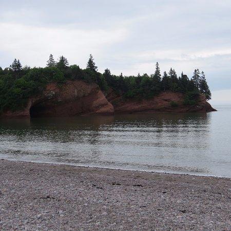 St. Martins, Canada: High tide