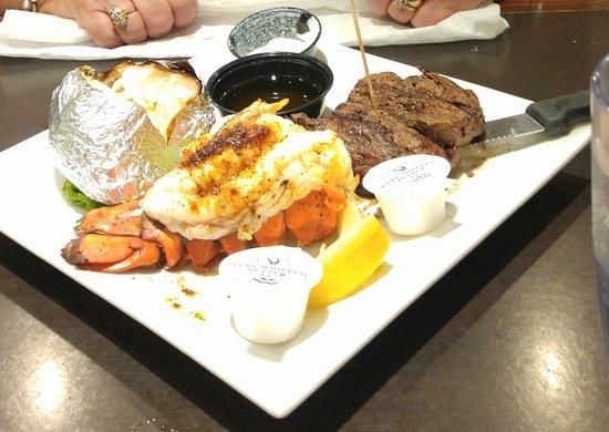 Mel's Diner: Steak and lobster $15.99