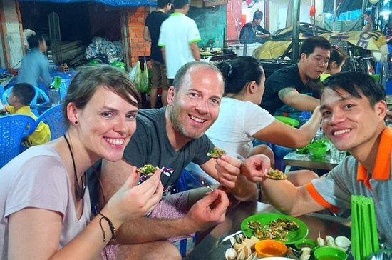 Vietnamese Street Food Night Tour in...