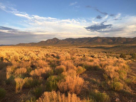 Ranchos De Taos, NM: Taos Valley Overlook - just a few miles away