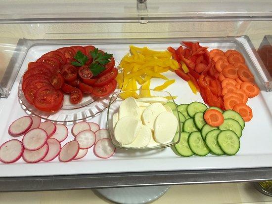 Das Spenerhaus: ドイツでは珍しく野菜が複数あります。