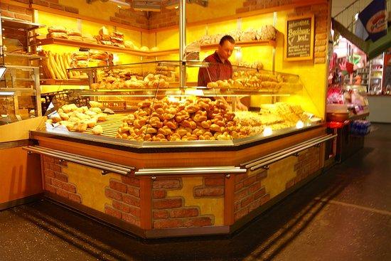 Kleinmarkthalle : パン屋さんは数軒有ります。
