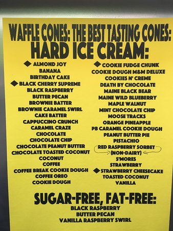 Cohoes, Нью-Йорк: 2017 hard ice cream flavors!
