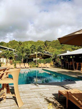 Pool At Muri Beach Resort