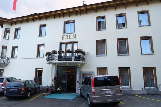 Hotel Eden Garni St. Moritz: Entrance