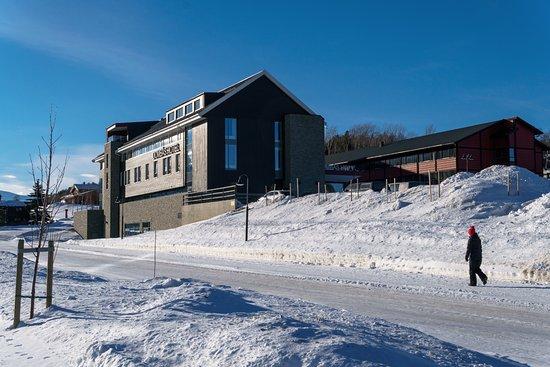 Dombas, Norwegen: View of Dombås Hotel