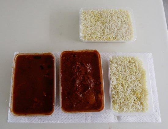 Shanti Indo-Lankan Restaurant: Shanti Indo-Lankan - Bombay Beef, Fish Vindaloo & Basmati Rice