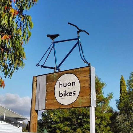 Bikes for hire. Based in Huonville, Tasmania.