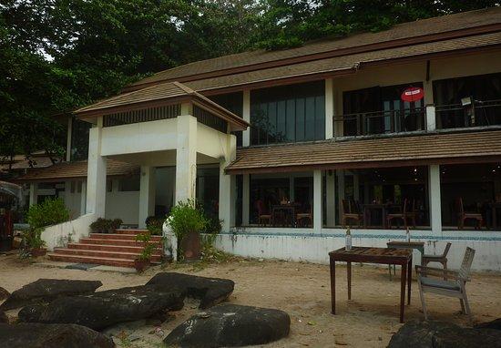 Siam Beach Resort: Restaurant im Resort