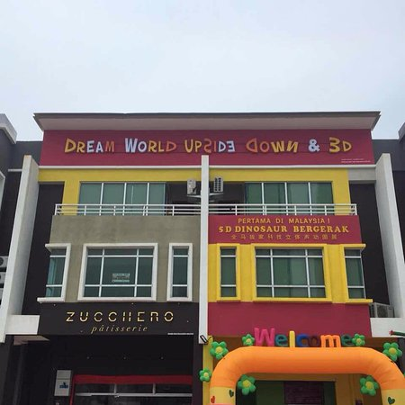 Central Melaka District, Malaisie : Dream World Upside Down & 3D