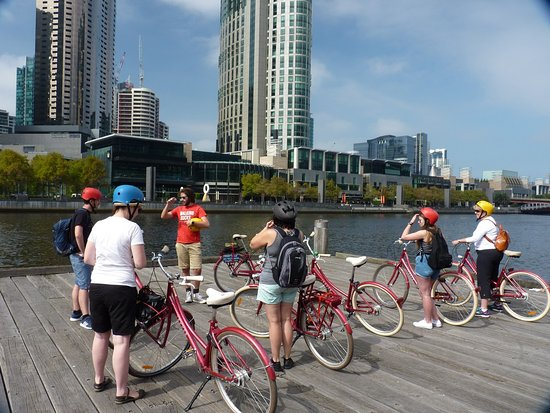 Freddy's Bike Tours: Excellent explanation about the beginnings of Melbourne