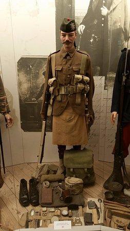 Memorial Museum Passchendaele 1917: display