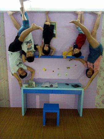 Central Melaka District, Malaysia: upside down room