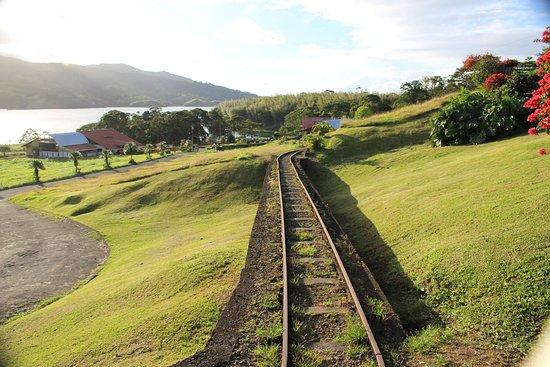 Nuevo Arenal, คอสตาริกา: Montée par le train vers le Rondorama
