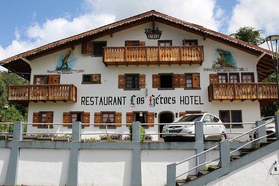 Hotel Los Heroes: Un chalet en bonne qualité