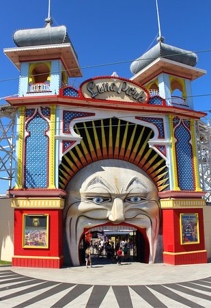 St Kilda, Australia: Luna Park Melbourne