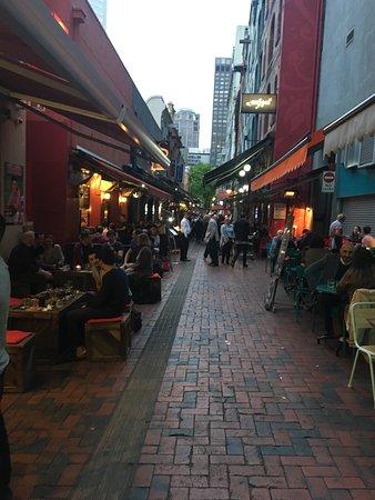 Melbourne lanes best food options