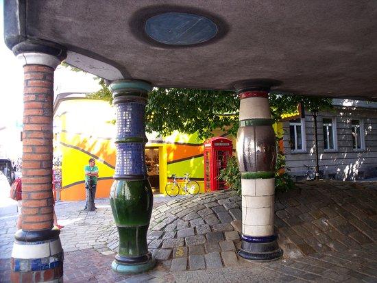 Kunsthaus Wien : Opposite Museum Hundertwasser, Vienna
