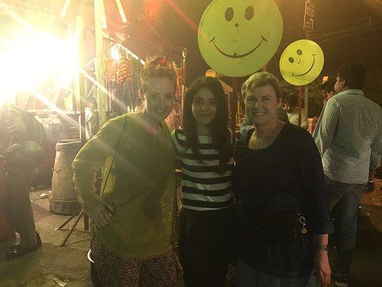Agra Walks: At Mama Franky with Megha