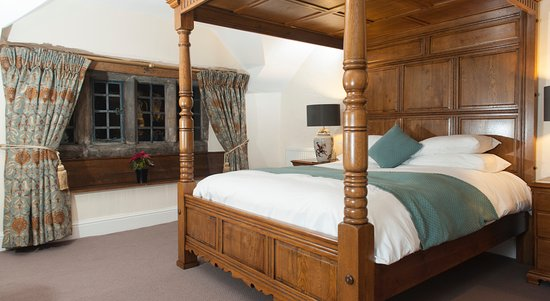 Chinley, UK: Four poster room