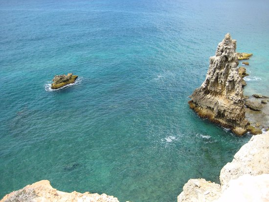 Aquarius Vacation Club: the cliff at the Cabo Rojo light house