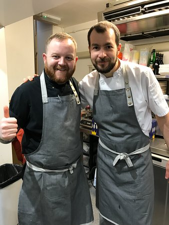 Peak District National Park, UK: Head chefs Adam and Ben