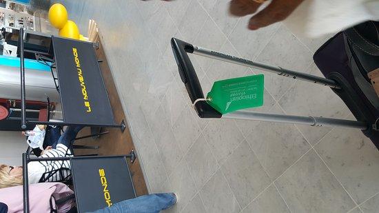 Uvrier, Schweiz: Nice airport branch