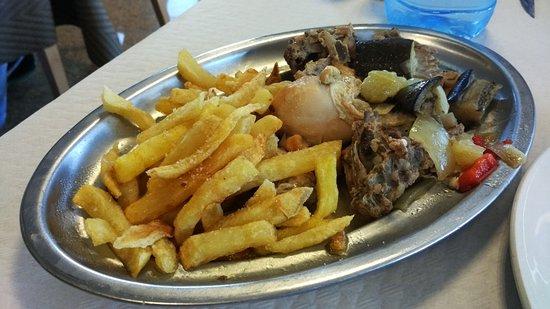 La Portela De Valcarce, Spanien: Pollo