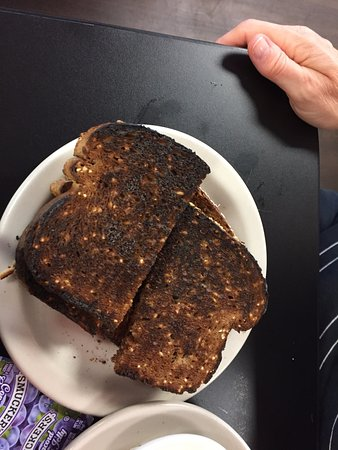Wildwood, FL: burnt toast