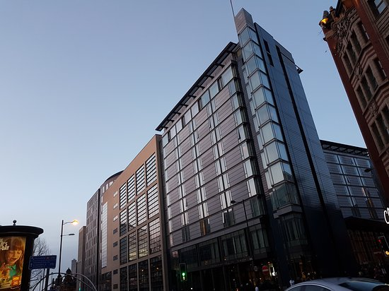 Double Tree By Hilton Manchester Piccadilly From The