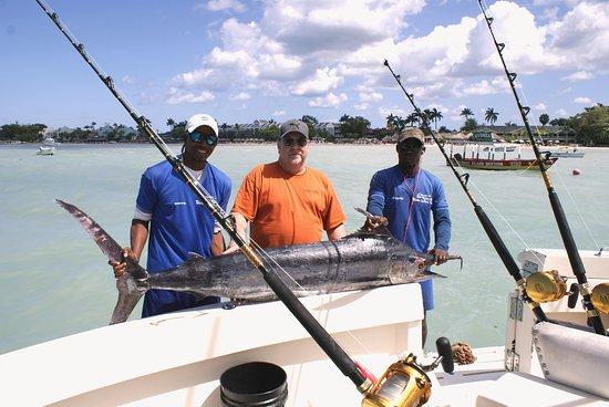 Stanley's Deep Sea Fishing: 130 Ib Blue Marlin caught Feb. 24th 2017