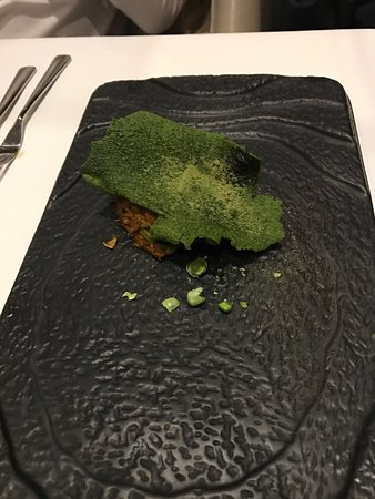 What an experience...in- and offsite the many delicious dishes of the chef's tasting menu...