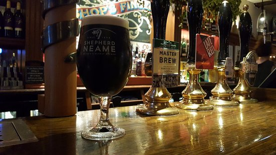 The Bishops Finger: Whitstable Bay Stout