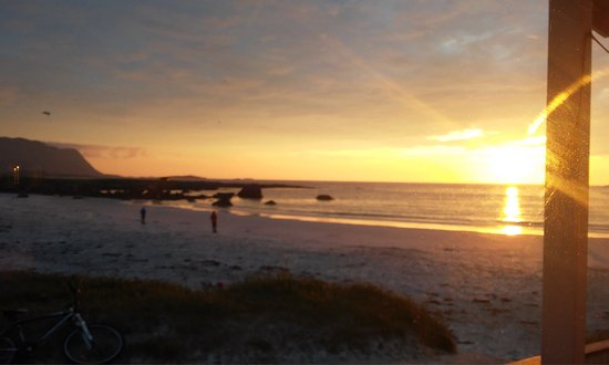 Flakstad Municipality, Noruega: Вид на пляж