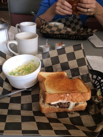 Henryetta, OK: My monster patty melt