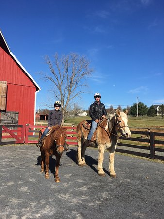 Royal Horseshoe Farm: Such a great time riding with Mufasa and Oakley