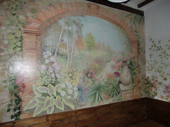 """Monte Castello di Vibio, Włochy: Un particolare della sala ristorante """"il Focolare"""""""