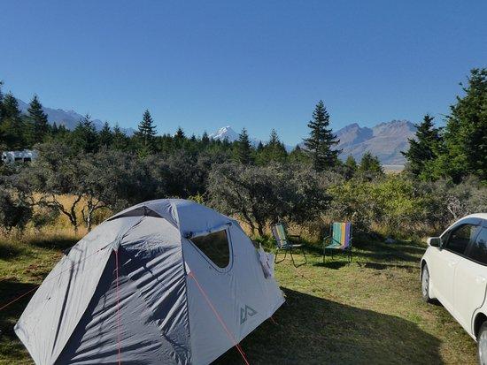 Mount Cook Glentanner Park Centre: Glentanner camp Area