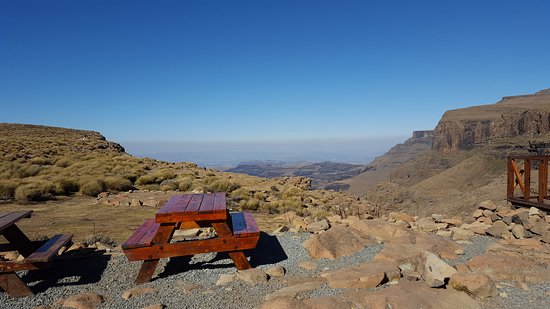 Sani Pass, Lesotho: the view