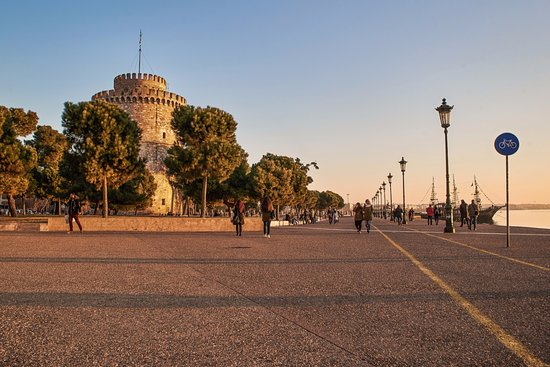 Oraiokastro, Greece: Thessaloniki City Boardwalk