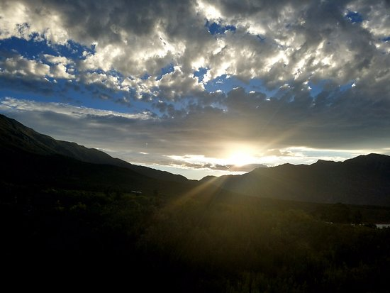 Good Hope Farm: Sunset starting