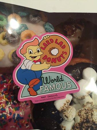 Lard Lad Donuts, Springfield USA