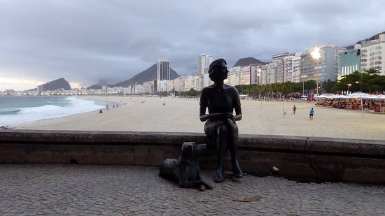 Manu Peclat - Rio Tour Guide: Copacabana Beach.